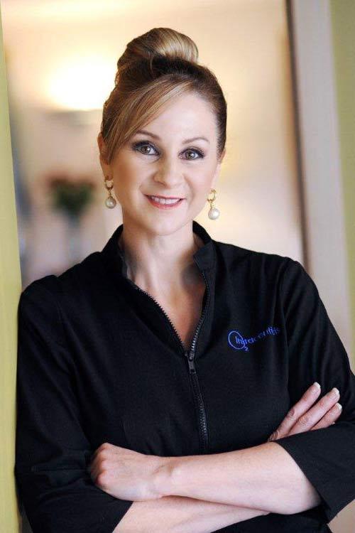 Jo McKenzie, beauty expert and founder of Envisage Beauty salon