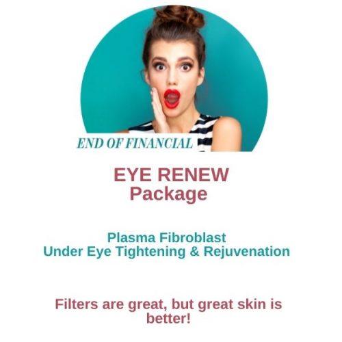 EOFY Plasma Fibroblast Eye Renew Package