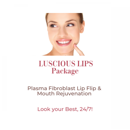 Current Offer – Plasma Fibroblast Luscious Lips Package